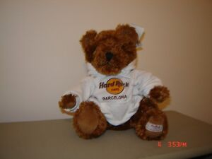 Collectible Hard Rock Cafe Teddy Bear - with tags London Ontario image 6