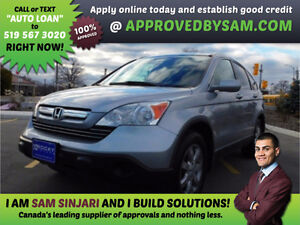 HONDA CRV - HIGH RISK LOANS - LESS QUESTIONS - APPROVEDBYSAM.COM