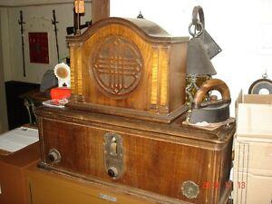 Brunswick circa 1926 radio and speaker
