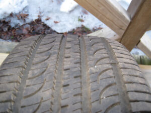 255 50 19 Yokohama Geolandar G055 All Season Tires
