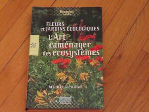 --FLEURS JARDINS ÉCOLO./ART  D'AMÉNAGER -352 pages