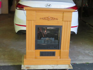 Electric Fireplace by Decorflame
