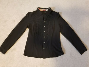 Burberry black shirt size S