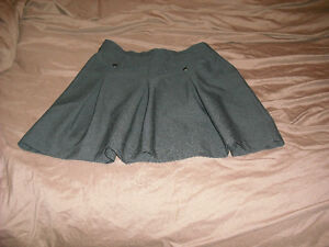 Ladies short black skirt