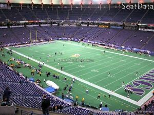 4 MINNESOTA VIKINGS v CLEVELAND BROWNS TICKETS - SUN 9/22/2013 1PM @ METRODOME
