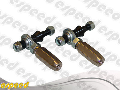 TCS FRONT ADJUSTABLE OUTER TIE ROD ENDS FOR NISSAN 89-94 240SX S13 Adjustable Tie Rod Ends