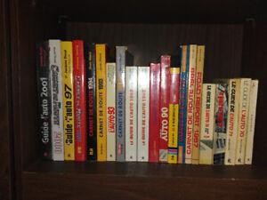 Guide de l'Auto de 1987 à 2001 - Collection - Carnets de Route