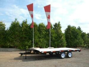 Sportsman Deckover Trailer by Miska – Factory Direct Savings