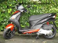 SYM JET 4 125, 5 YEAR WARRANTY, CHOICE OF COLOURS.