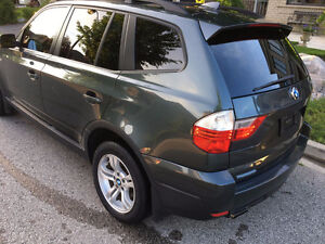 2007 BMW X3 3.0i AWD Panoramic roof