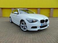 BMW 118D M-Sport in Alpine White - Msport 1 Series M Sport