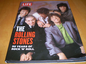 LIFE BOOK THE ROLLING STONES 50 YEARS OF ROCK N ROLL