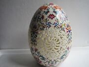 Asian Porcelain Egg