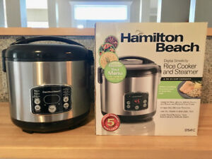 Immaculate condition - Hamilton Beach Rice Cooker