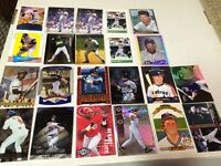Baseball insert cards- lot of 22