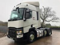 2015 65 Renault T460 6x2 double sleeper cab tractor unit