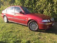 DIESEL - 2004 ROVER 45 - 66,000 MILES - BMW ENGINE - 55 MPG
