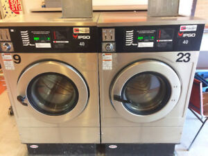 Coin operated for  large loads 40 lb IPSO Commercial Washers
