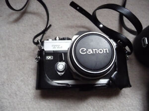 Canon TL ( QL ) with 2 lenses