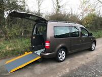 2011 Volkswagen Caddy Maxi Life 1.6 TDI 5dr DSG AUTOMATIC WHEELCHAIR ACCESSIB...