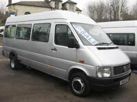 VOLKSAWAGEN LT46 158 TDI LWB 10 - 13 SEAT WHEELCHAIR ACCESSIBLE MINIBUS