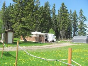 RV Lake Lot for Rent - Long Term at Buck Lake, AB.