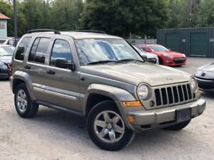 2007 Jeep Liberty 1-Owner 4WD Sport Trail-Rated Power Group