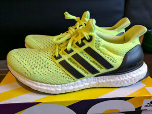 DS Adidas Ultraboost 1.0 Women Frozen Yellow S77512 - Size 8