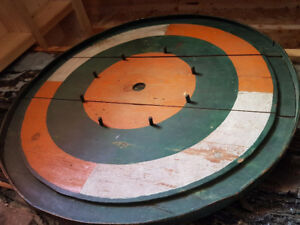 Crokinole Board Hand-made  one-of-a-kind, Folk art