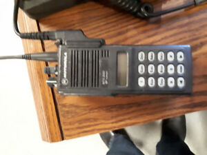 Three Motorola MTS2000 ham radios