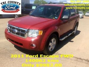 2011 Ford Escape XLT 4D Utility 2WD