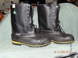 STEEL TOE WINTER WORK BOOTS
