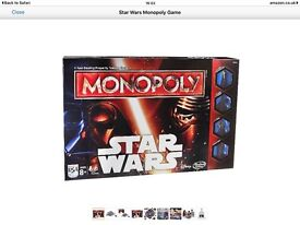 Star Wars Monopoly only £7.50