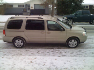 7 Passengers! Only 189000kms! 2009 Chevy Uplander $5000obo