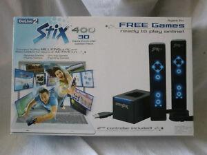 GO LIVE 2 STIX 400 3D GAME CONTROLLER COMBO STARTER PACK NEW