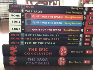 Books - Bone series