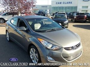 2013 Hyundai Elantra Limited  Leather Moonroof Automatic