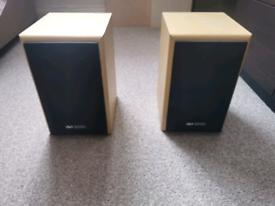 Acoustic Solutions 50 Watt Bookshelf Speakers AV-20 MK2