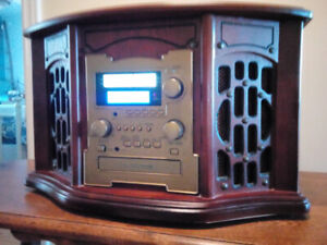 Retro looking stereo for sale.