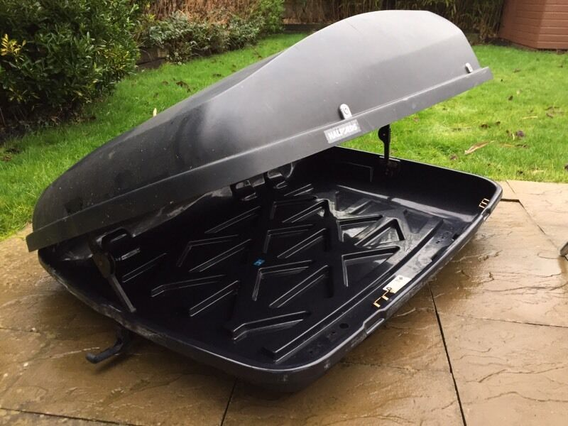 Halfords 420l Roof Box In Bromsgrove Worcestershire