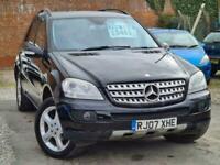 2007 Mercedes-Benz M-CLASS Ml 280 Cdi Edition S 3 Auto Estate Diesel Automatic