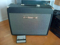 Fender The Twin guitar amp and Traynor YCV40 guitar amp