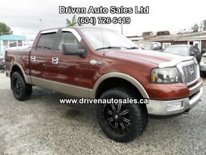 2005 Ford F-150 King Ranch Lifted Crew Cab 4x4 Pickup Truck