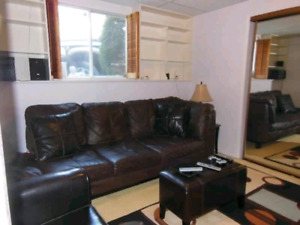 fully furnished modern basement suite montgomery