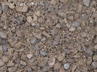 20 mm ballast ( sand and gravel ) mix