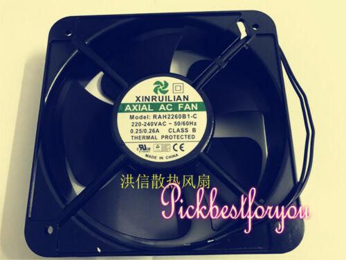 1PCS XINRUILIAN RAH2260B1-C 220V 0.42A High temperature resistant fan #M147C QL