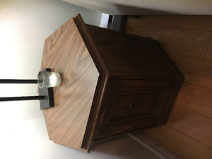 TWO HEXAGON SIDE TABLES FOR SALE