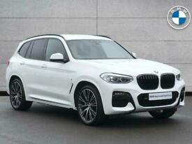 image for 2020 BMW X3 SERIES X3 xDrive30d M Sport SUV Diesel Automatic