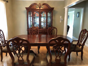 Dinning table sets & wine cabinet