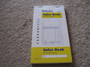 Blueline Sales Book G3NCR.2 50 Duplicates New book + more